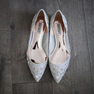 Badgley Mischka Gigi Wedding Shoes Pointed Toe 8